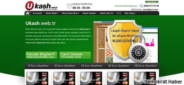 Ukash kart satın almak Ukash.web.tr ile artık kolay!