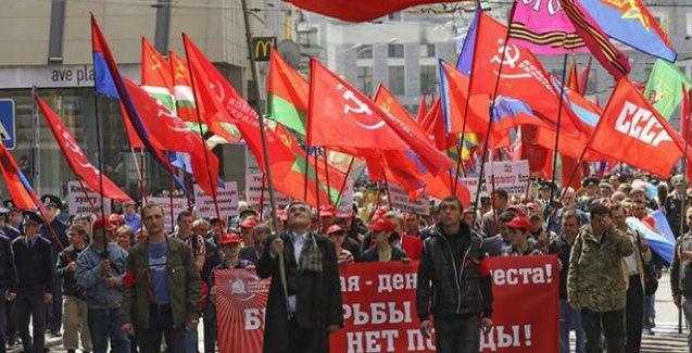 Ukrayna'da Komünist Parti ve komünizm propagandası yapmak yasaklandı