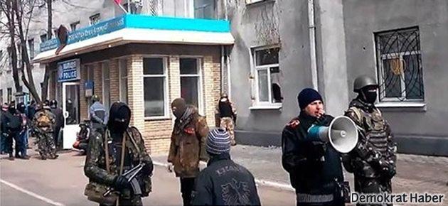 Ukrayna'da protestoculara karşı 'terör' operasyonu