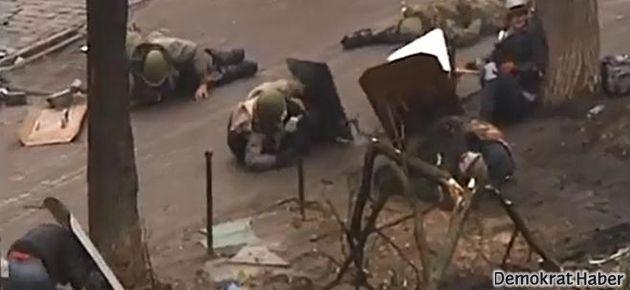 Ukrayna'da sniper dehşeti!