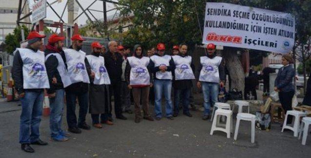 Ülker işçileri direnişlerinin 140. gününde tazminat haklarını aldı