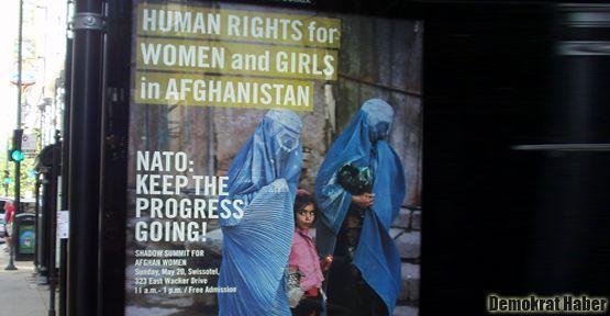 Uluslararası Af Örgütü'nün afişine tepki