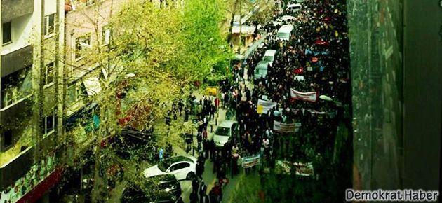 Ümraniye'de binlerce kişi 2B'ye isyan etti