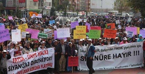 Ünye - Fatsa halkı siyanüre direniyor!
