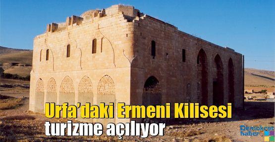 Urfa'daki Ermeni Kilisesi turizme açılıyor