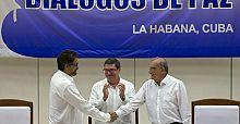 Kolombiya'da barış anlaşması imzalandı