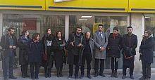 Gözaltındaki avukatlar için eylem