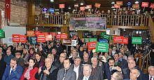 Silivri'de termik santrale karşı kampanya başlatıldı