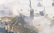 Avustralya'da uçak AVM'ye düştü: 5 kişi hayatını kaybetti