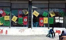HDP seçim lokaline polis baskını
