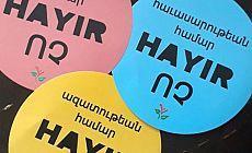 Nor Zartonk: Biz Ermeniler, kurulmak istenen ırkçı, mezhepçi ve tekçi diktatörlük rejimine 'Hayır' diyoruz
