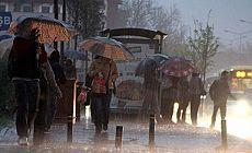 Meteoroloji'den sekiz şehir için yağış uyarısı