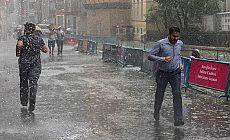 Meteoroloji'den 5 il için  sel uyarısı