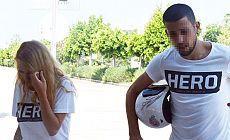 'Hero' tişörtü giyen üniversitelilere gözaltı