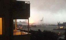 Haydarpaşa Limanı'nda yangın