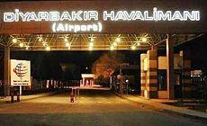 Diyarbakır'da uçuşlar iptal edildi