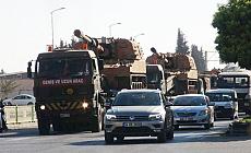 Afrin sınırına askeri sevkiyat