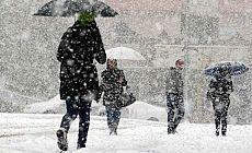 Meteoroloji uyardı: Kar ve yağmur geliyor