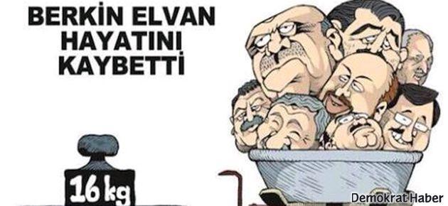 Uykusuz, Berkin Elvan'ı kapağına taşıdı