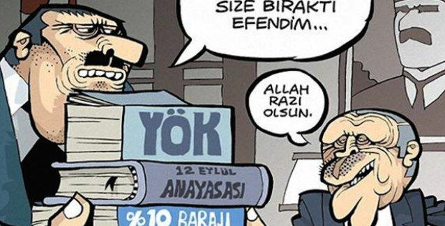 Uykusuz'da Erdoğan, Kenan Evren'in 'mirasını' devralıyor