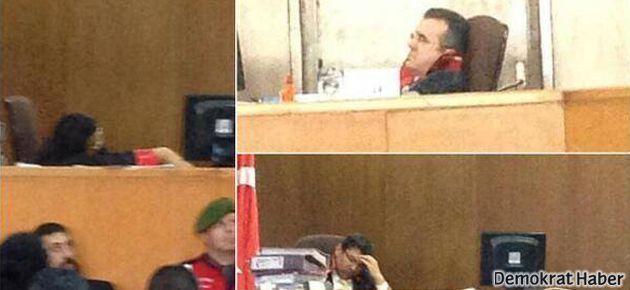 'Uyuyan savcı'yı fotoğraflayanlara suç duyurusu