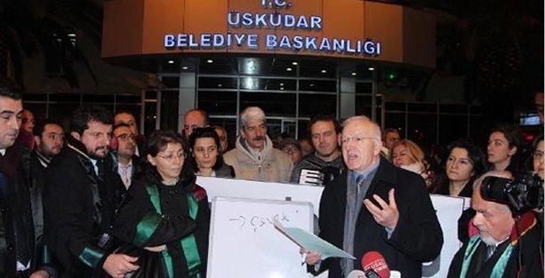 Validebağ'a hukukçulardan destek