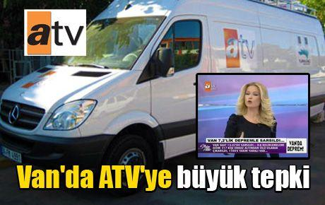 Van'da ATV'ye büyük tepki
