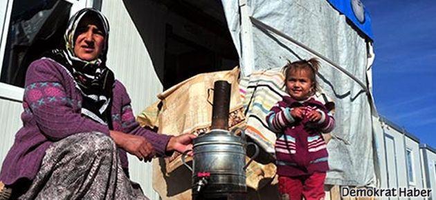Van'da depremzedelerin açlık grevi 100. gününde