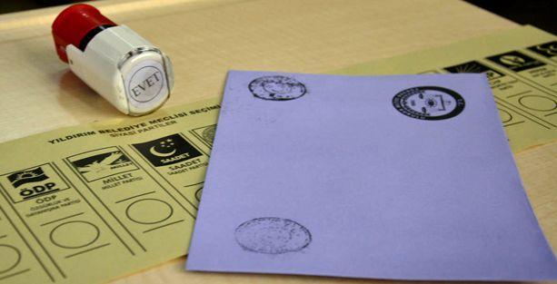 Yurtdışında oy kullanma işlemleri tamamlandı