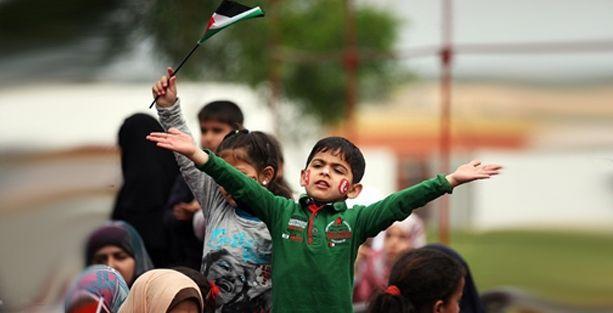 Venezuela'dan Gazzeli çocuklara yardım eli