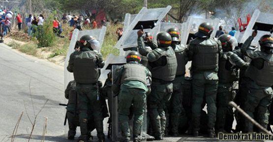 Venezüella'da cezaevindeki olaylar