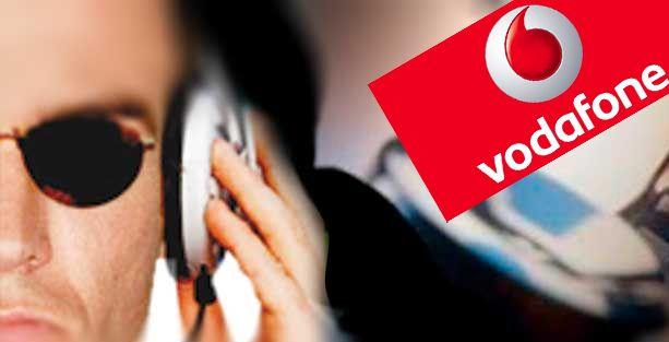 Vodafone'dan dinleme itirafı