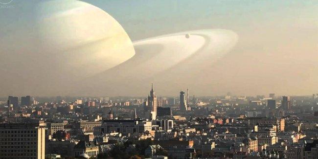 Ya Ay'ın gökyüzünde durduğu yerde gezegenler olsaydı?
