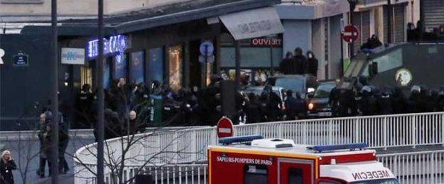 Yahudilere ait marketi basan saldırgan öldürüldü