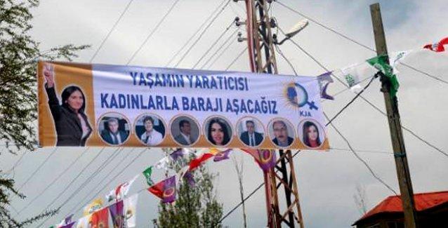 'Yandaş' medya, HDP'nin kadını esas alan pankartını da 'din karşıtı' kampanyaya çevirdi!