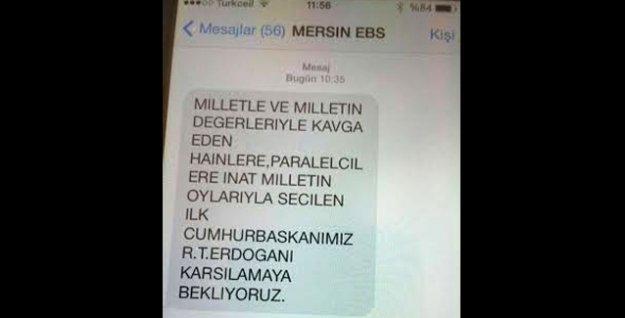 'Yandaş sendika'dan üyelerine 'Paralelcilere inat Erdoğan'ı karşılamaya' mesajı