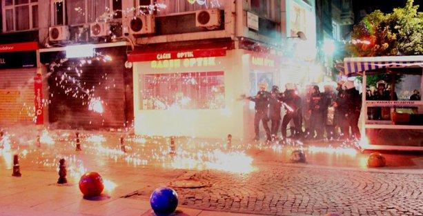 Yargıtay'ın 'Devrimci Karargah' kararı protestosuna polis saldırdı
