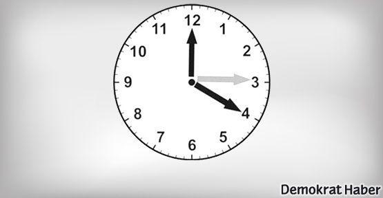 Yaz saatine geçilecek mesai saatleri değişecek