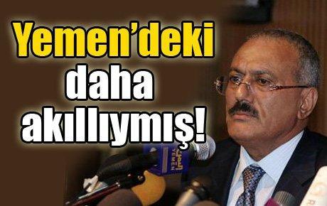 Yemen'deki daha akıllıymış!