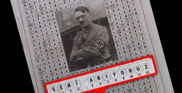 Yeni Akit 'Hitler'i arıyor'