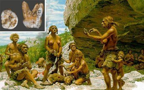 Yeni bir insan türünün kalıntıları bulundu