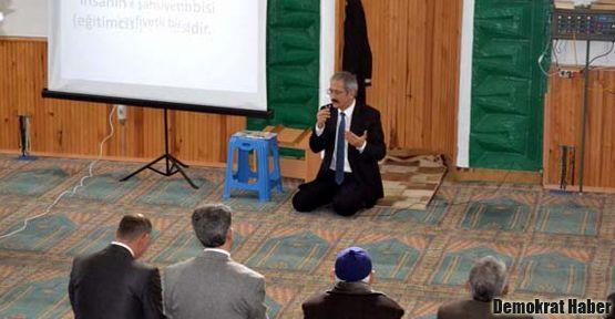 Yeni uygulama: Camide veli toplantısı