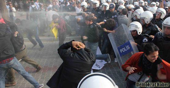 YÖK birçok yerde protesto edildi