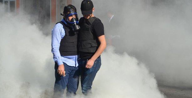 YÖK protestosuna İstanbul'da gazlı saldırı, Diyarbakır'da gözaltı