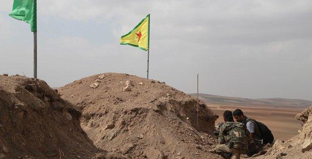 YPG Kobani'de Til Şeir'i geri aldı