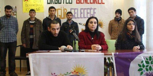 Yüksekdağ'dan gençlere çağrı: Gelin HDP'den milletvekili aday adayı olun
