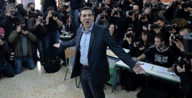 Yunanistan'da oy verme işlemi bitti:  Syriza açık farkla önde görünüyor