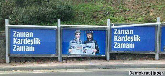 Zaman Erdoğan'la kardeşliği bitirdi