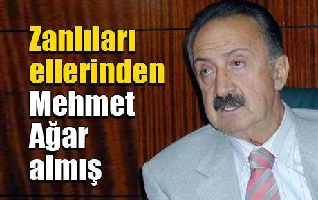 Zanlıları ellerinden Mehmet Ağar almış
