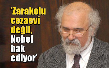 'Zarakolu cezaevi değil, Nobel hak ediyor'